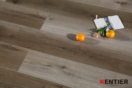 Cross Cut Surface WPC Vinyl Flooring