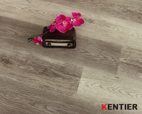 K3022-Grey Color Pvc Flooring with Oak Wood Texture Looking