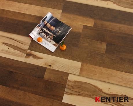 H8122-Multi-strip Series LVT Flooring with Crystal Treatment