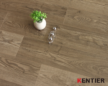 K6017-High Gloss Laminate Flooring From Kentier
