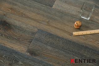 K1711--Oak Top Veneer Engineered Flooring with Chemical Stain Treatment