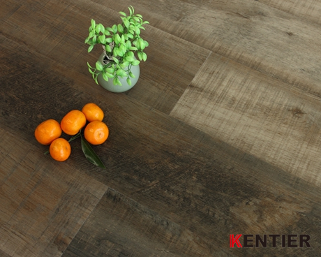C2902-Dark Grey Dry Back Flooring with 6''*48'' Size