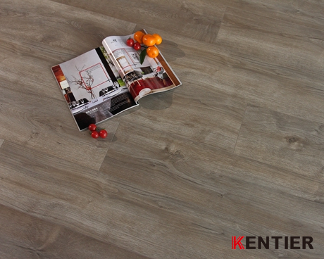 K4203-Click System with V-groove Laminate Flooring From Kentier