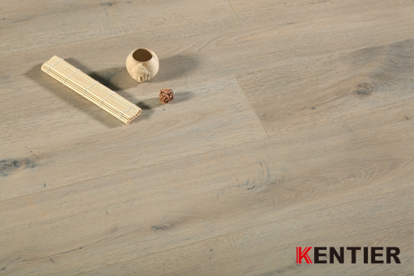 K71411-Light Color Indoor Laminate Flooring with Smooth Surface