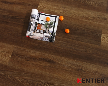 K3028-Dark Chocolate Luxury Vinyl Tile Flooring From Kentier