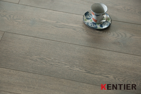 K5603-Dark Grey HDF Laminate Flooring with Crystal Surface