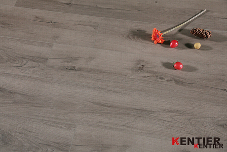 Oak Wood Surface with Crystal Treatment WPC Flooring