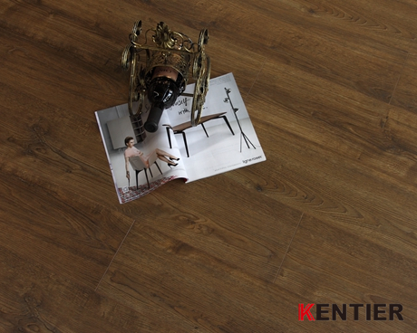 K4107-Kentier Laminate Flooring with 2mm EVA Padding Attached