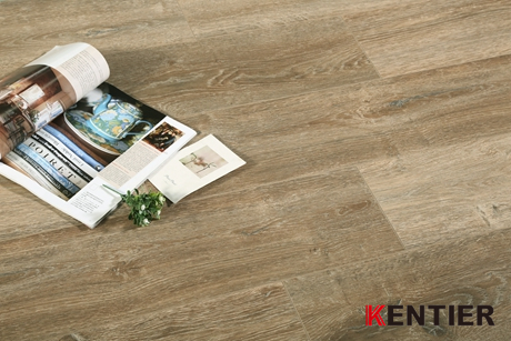K5244-Oak Texture Laminate Wood Flooring with Rigister Brushed Surface