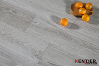 Oak Wood with Grey Color Luxury Vinyl Tile