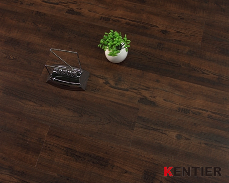 P1907-Truly Dark Color Series Dry Back Flooring with Handscraped Finished