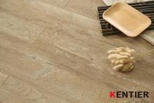 K2107-Brown Oak Laminate Flooring with Embossed Surface