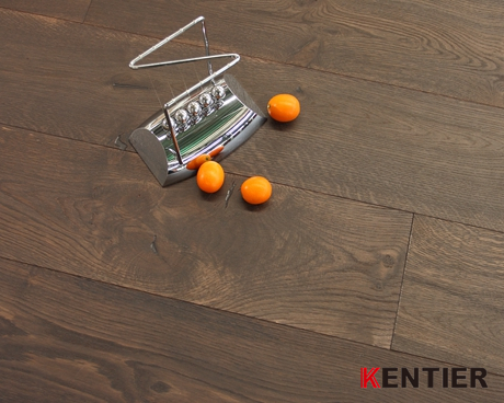 K5121H-15mm Thickness Oak Multi-engineered Flooring with Brushed Treatment