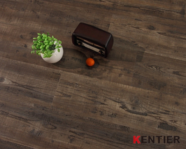 P1904-Dark Color Stone Pattern Dry Back Flooring with EIR Surface