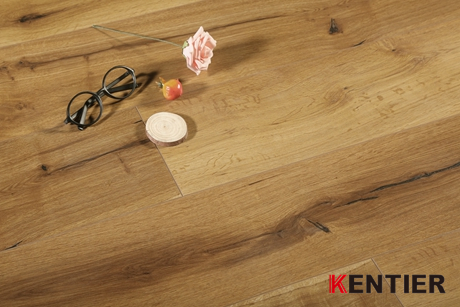 K5701-Oak Wood Laminate Flooring with Gradient Ramp Color