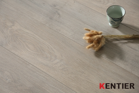 K36315-Light Color Laminate Flooring with Wax Seal