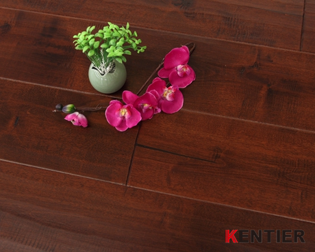 B0603-Chemical Stain Treatment Engineered Wood Floors From Kentier