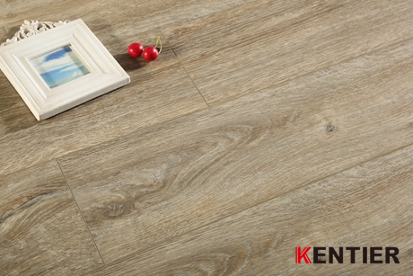 KL5302-Light Grey Dry Back Pvc Flooring with Handscraped Treatment